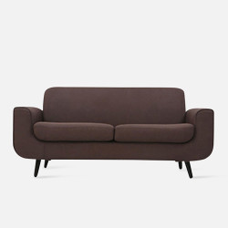 LUNA Sofa L160 - Brown