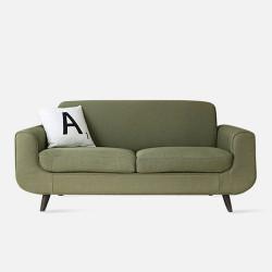 LUNA Sofa L160 - Green