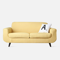 LUNA Sofa L160 -Yellow