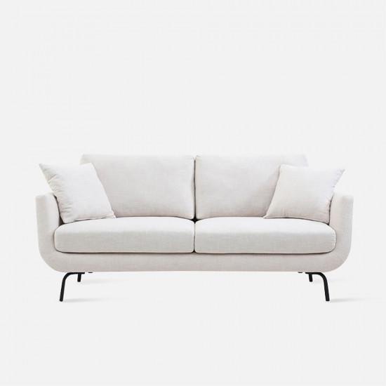 CHLOE Sofa L185, White