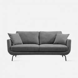 CHLOE Sofa L185, Dark Grey