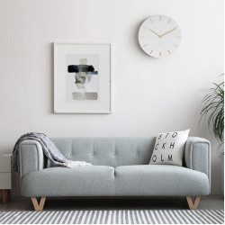 [Sale] V. V. Sofa, Turquoise