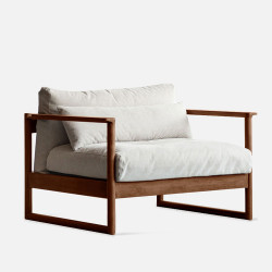 DANDY Single Sofa, Walnut