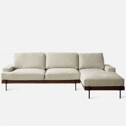 Nadine Frame Sofa, Walnut Frame