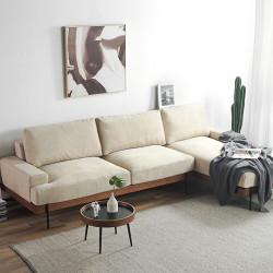 Nadine Frame Sofa, Oak Frame