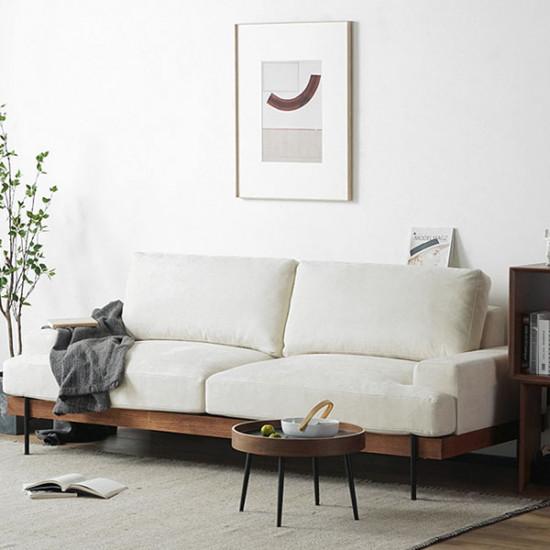 Nadine Frame Sofa, Oak Frame, L-SHAPE