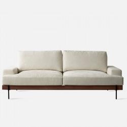 Nadine Frame Sofa, Walnut, L180-L238