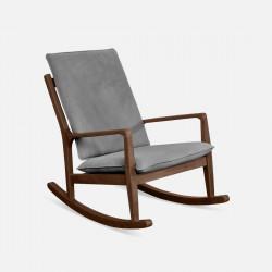 DOLCH Rocking Chair, Dark Walnut
