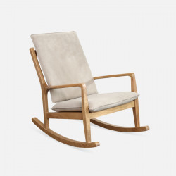 DOLCH Rocking Chair, Oak, W65