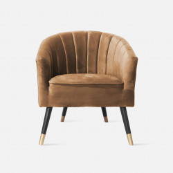 Chair Royal Velvet Brown W70