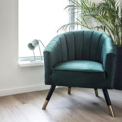 Chair Royal Velvet Green W70