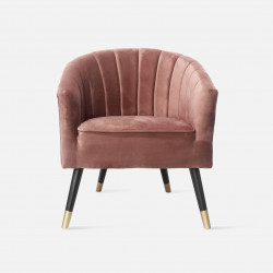 Chair Royal Velvet Pink W70