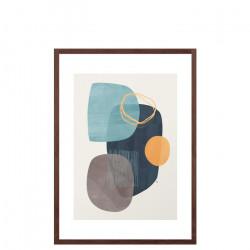 Cyra, Medium, Framed Walnut Wood [In-Stock]