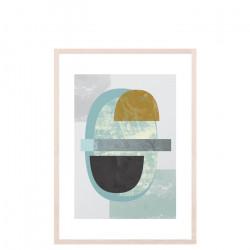 Pastel Colours Print, Medium
