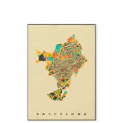 Barcelona - Canvas Medium [In-Stock]