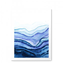 Washed Away Watercolor - small