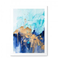 Abstract watercolour - small