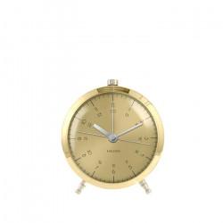 Alarm Clock Button  - Brass Plated