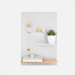 Memo board Perky Mesh iron White