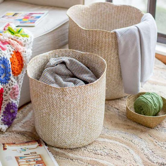 Handmade Basket by Seaweed