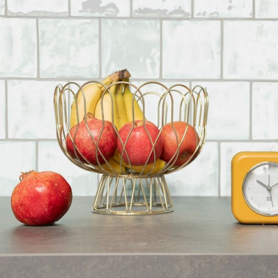 Fruit Bowl Wired - Copper