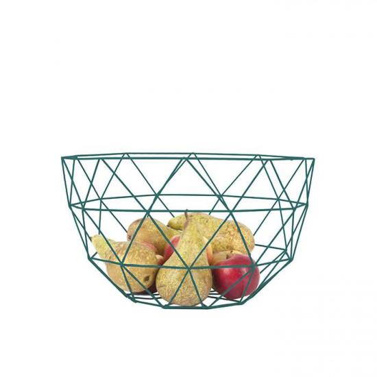 Fruit Bowl Set Linea - Pine Green