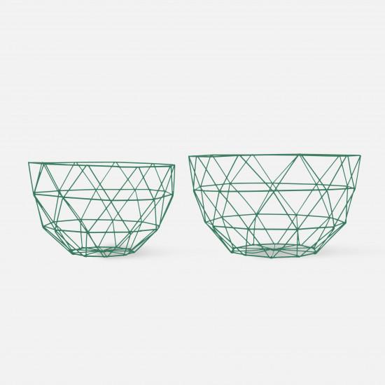 Fruit Bowl Set Linea - Black