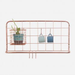 Kitchen rack set Open Grid Copper plated [Display]