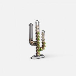 Coffee Capsule Holder Cactus, Black