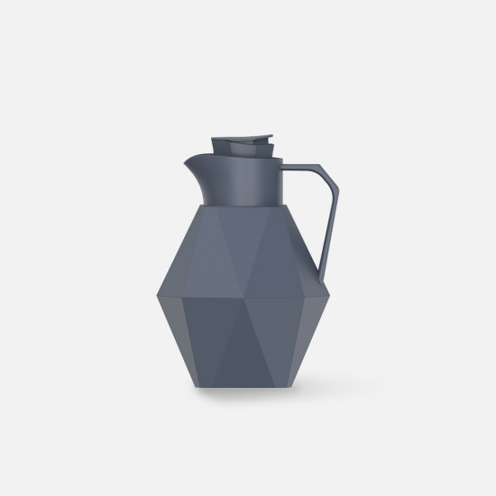 Thermos bottle Origami Blue