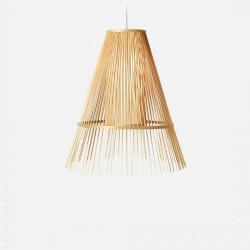 Handmade Bamboo Cone Pendant