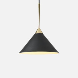 SCANDI CONE Pendant, Coal Black