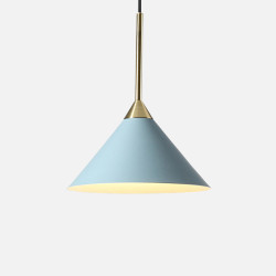 SCANDI CONE Pendant, Steel Blue