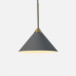 SCANDI CONE Pendant, Dark Grey