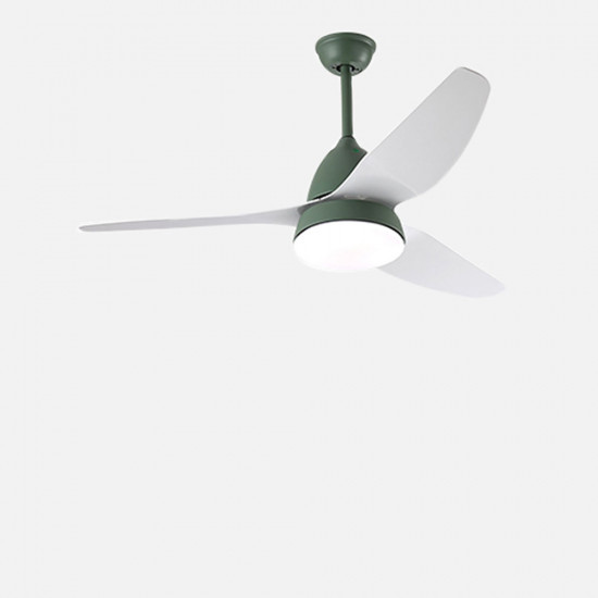 SIM Ceiling LED with Fan, Sage Green