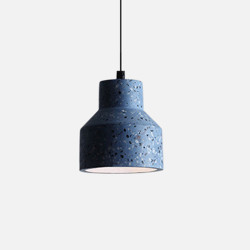 Terrazzo Pendant, Blue