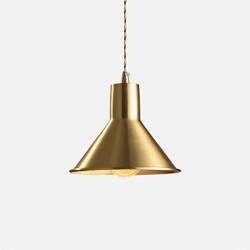 COMLY Brass Pendant B