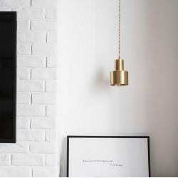 COMLY Brass Pendant A