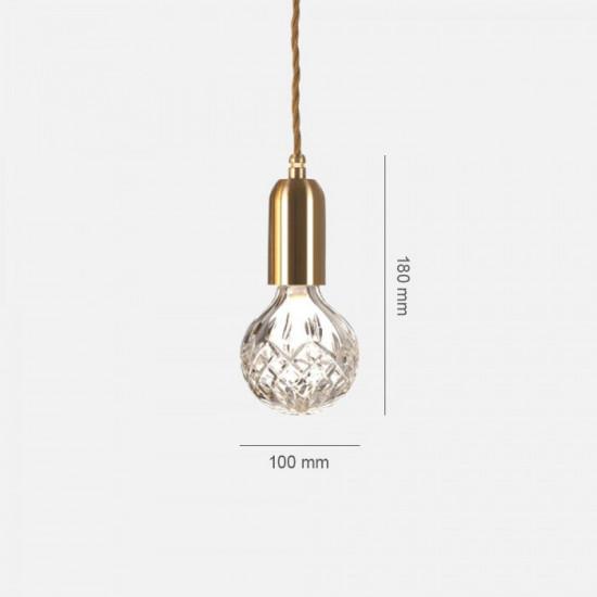 COMLY LED Raindrop Pendant