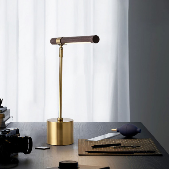 COMLY Wooden LED Table Lamp