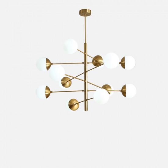 Glass Bubble LED Ceiling Light V.2 (L)