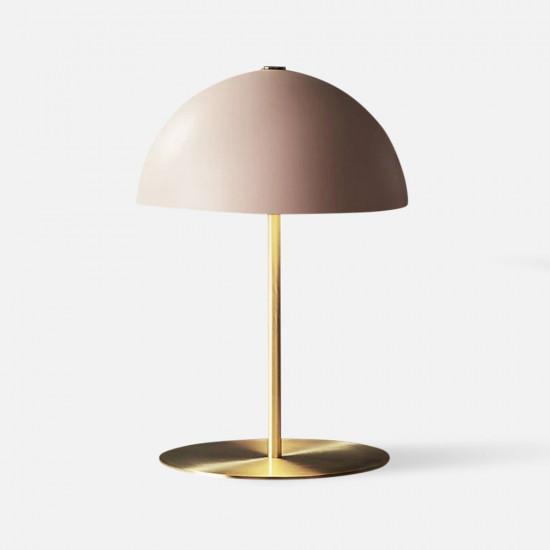 Table lamp Bonnet metal Pink