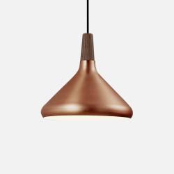 Aluminium Cone Pendant B, Copper