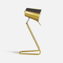 Z Table Lamp - Brass