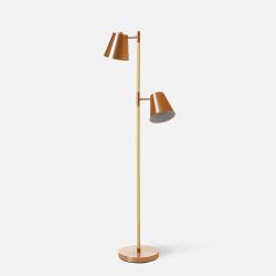 Rubi Floor Lamp, Copper