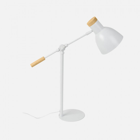 Table Lamp Stark Metal - White