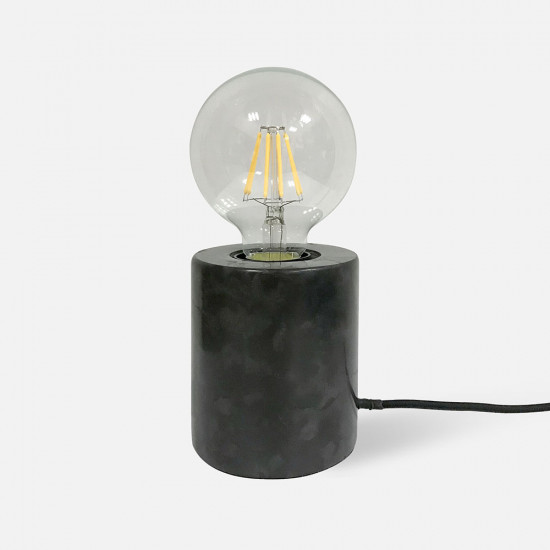 Table lamp Bar Marble - Black [Display]