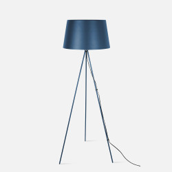 Floor lamp Classy Metal Dark Blue