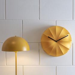 Floor lamp Bonnet Metal Ochre Yellow