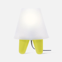 Table lamp Dab - Lime green
